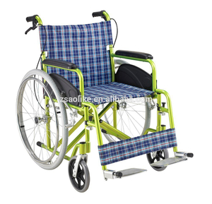 Cheap Aluminum manual wheelchair for halls ALK972LJP-24 ""