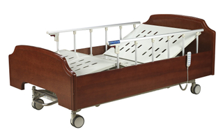 CE, FDA Certificated Two crank manual home care bed