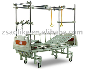 CE and FDA certificated Steel Frame Orthopedic Traction Bed