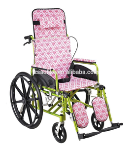 Aluminum manual wheelchair for halls ALK954LBGC