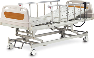 CE, FDA approved quality High quality and cheap Electric hospital bed for halls with 3 function with control of brakes